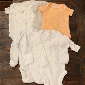 Carter's Newborn Onesies Bundle